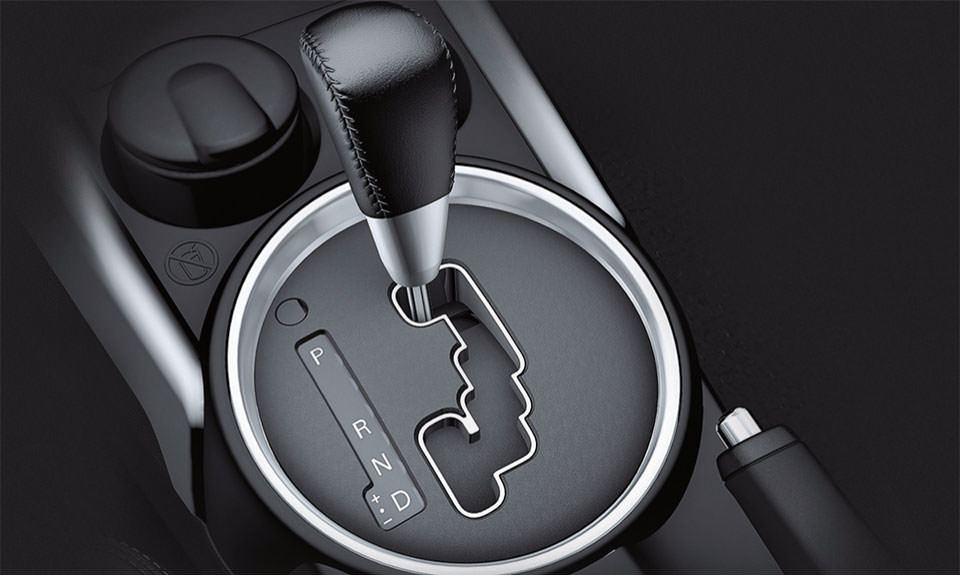 Com a tecnologia INVECS-III, que se adapta ao modo de dirigir de cada motorista e torna a condução muito mais confortável.